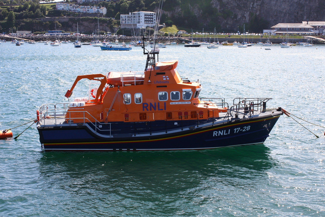 RNLB ALEC AND CHRISTINA DYKES