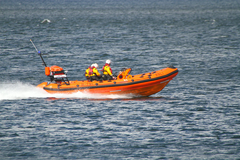 RNLB GLADYS WINIFRED TIFFNEY, River Clyde August 2014