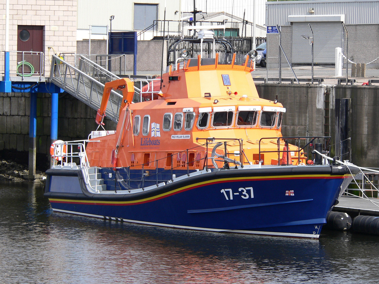 RNLB WILLIAM BLANNIN
