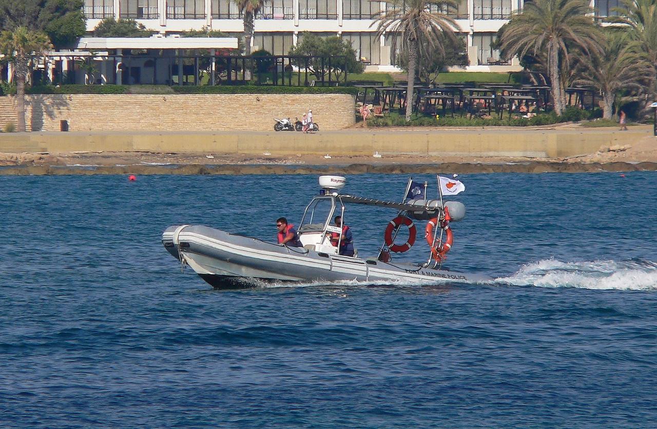 CYPRUS POLICE RIB