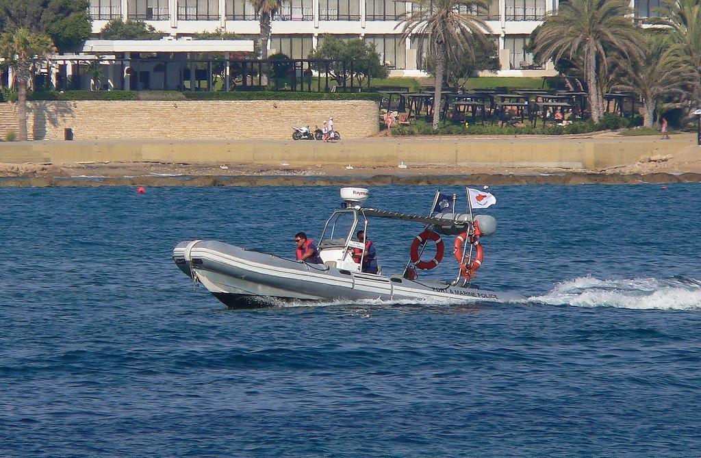 CYPRUS POLICE RIB, Paphos July 2013