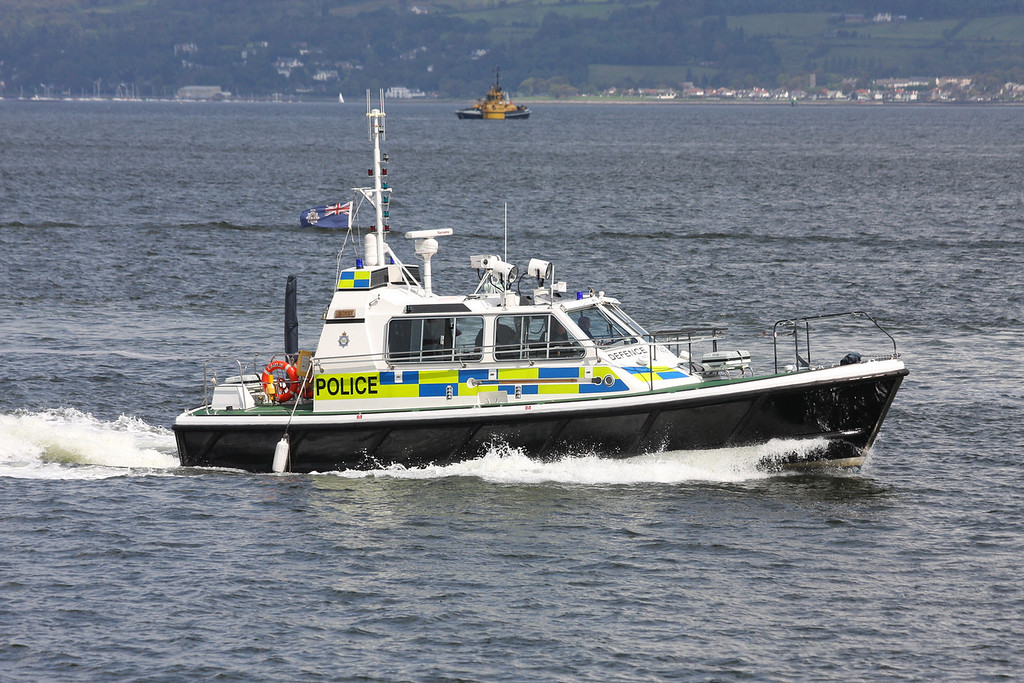 EAGLE, MOD Police, River Clyde July 2011