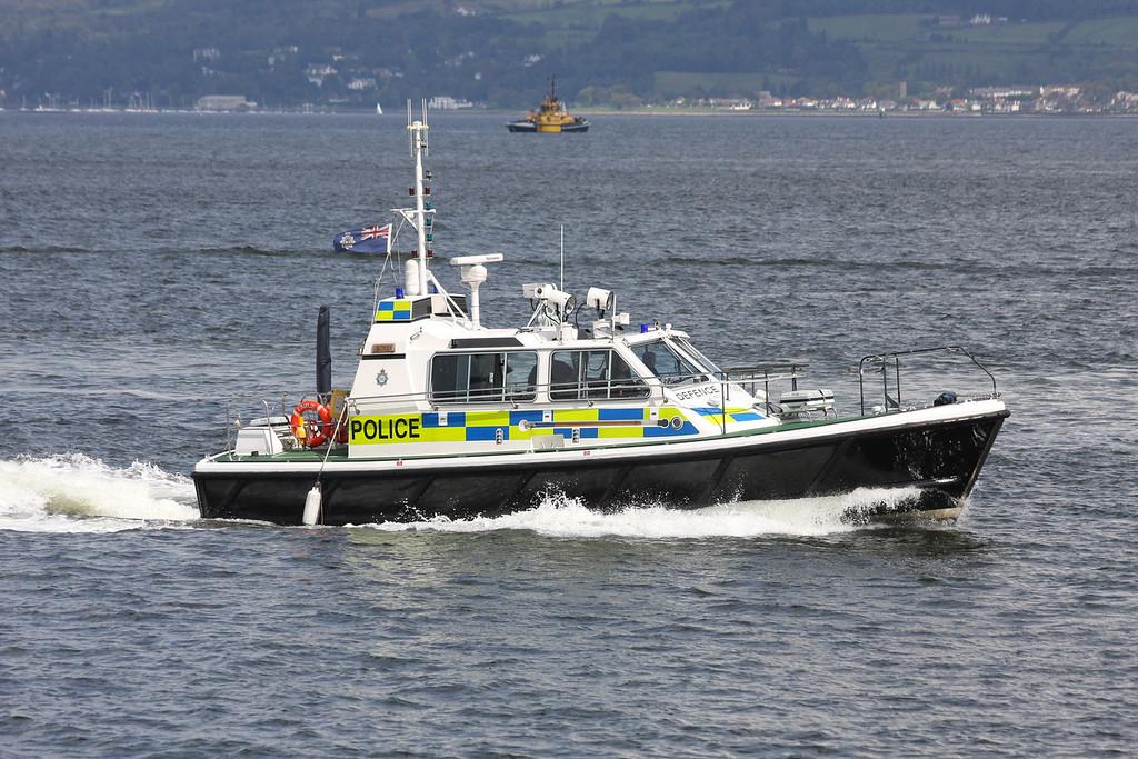 EAGLE, MOD Police, River Clyde July 2011