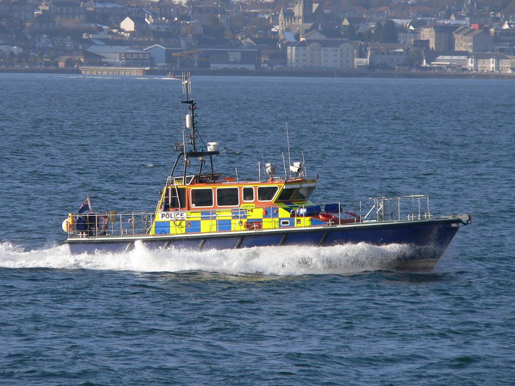 CONDOR, MOD Police, River Clyde February 2009