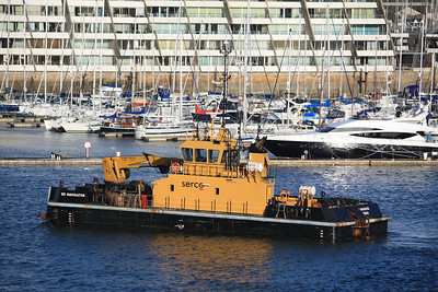SD NAVIGATOR IMO: 9533414 @ Mount Wise, Plymouth 09.12.11