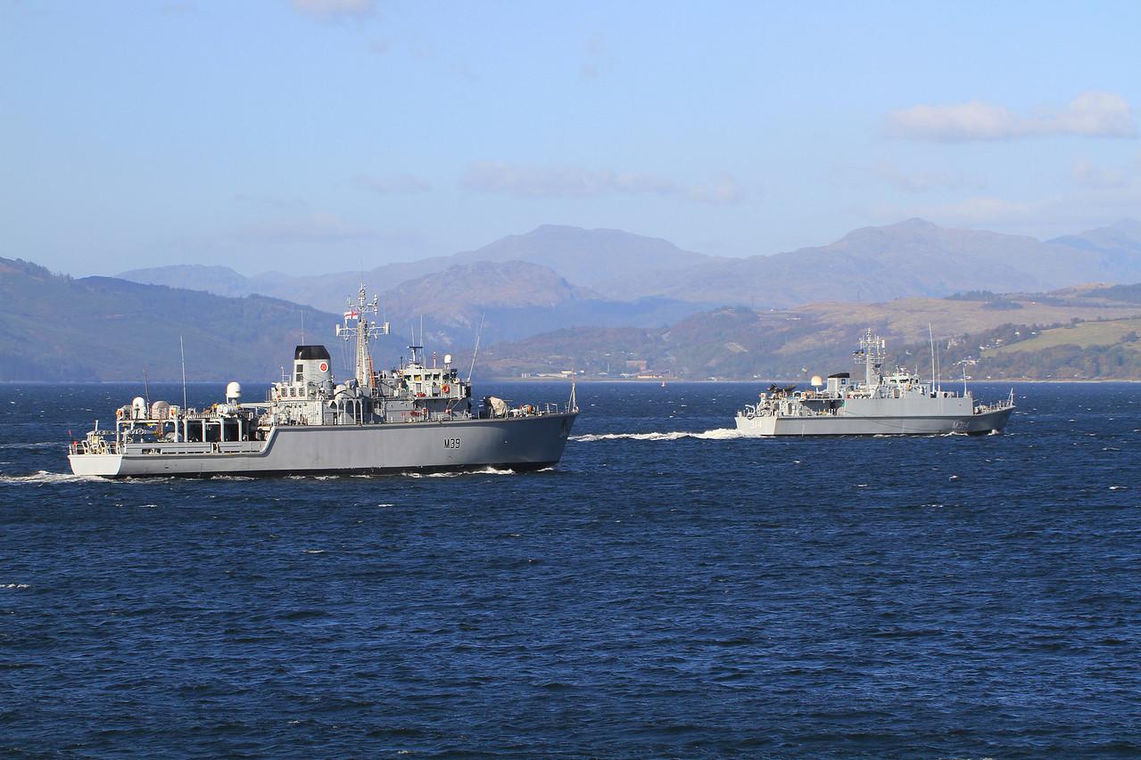 M-314 ENS SAKALA & M-39 HMS HURWORTH