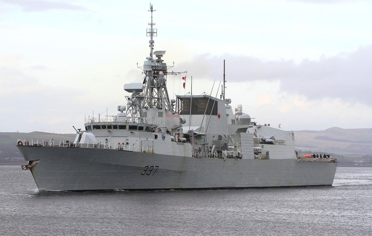 FFH-337 HMCS FREDERICTON