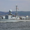 P-6123 FGS HERMELIN, Germany, River Clyde April 2015
