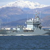 A-514 FGS WERRA, Germany, River Clyde April 2015