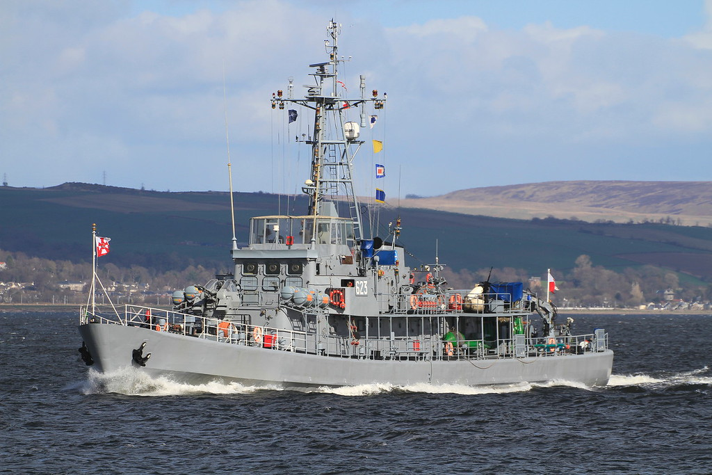 623 ORP MEWA, Poland, River Clyde April 2015