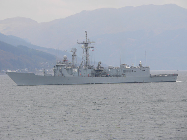 272 ORP GENERAL K POLASKI, Poland, River Clyde April 2008