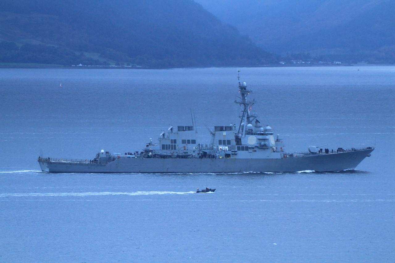 DDG-74 USS McFAUL