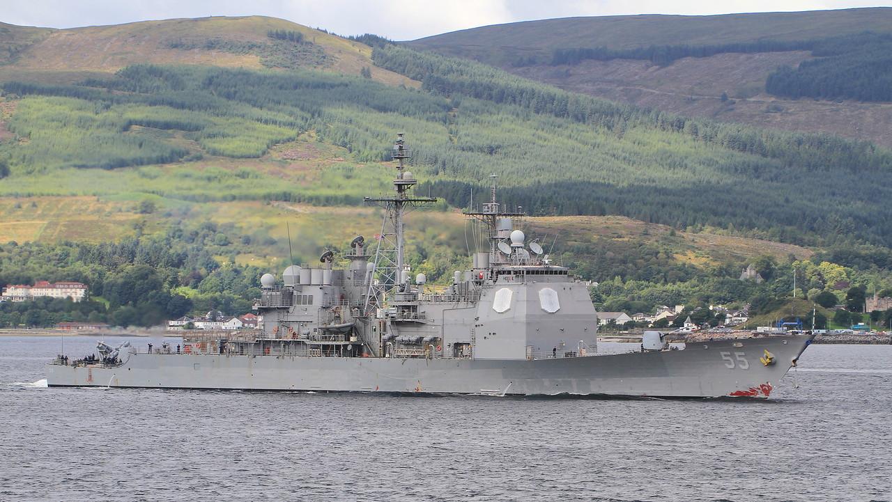 CG-55 USS LEYTE GULF
