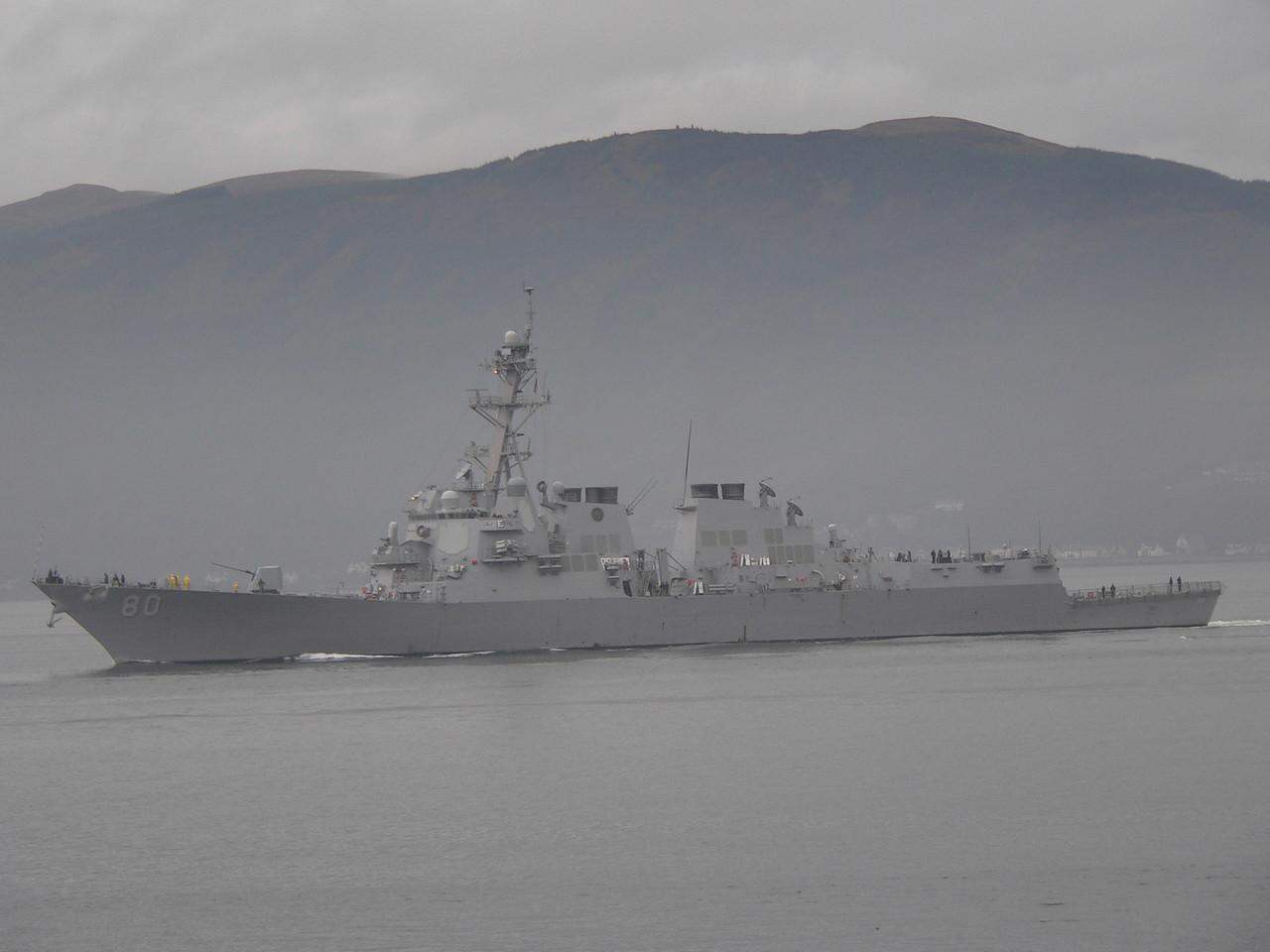 DDG-80 USS ROOSEVELT