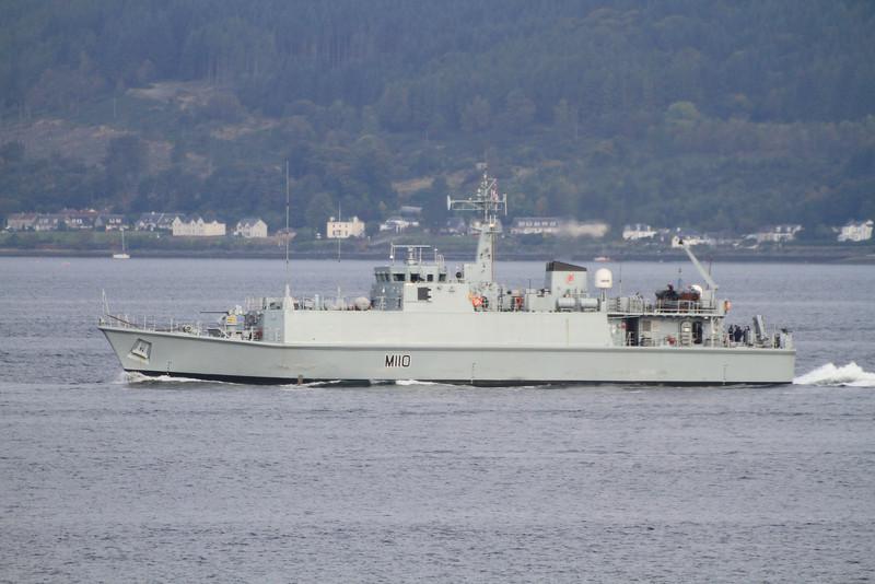 M-110 HMS RAMSEY