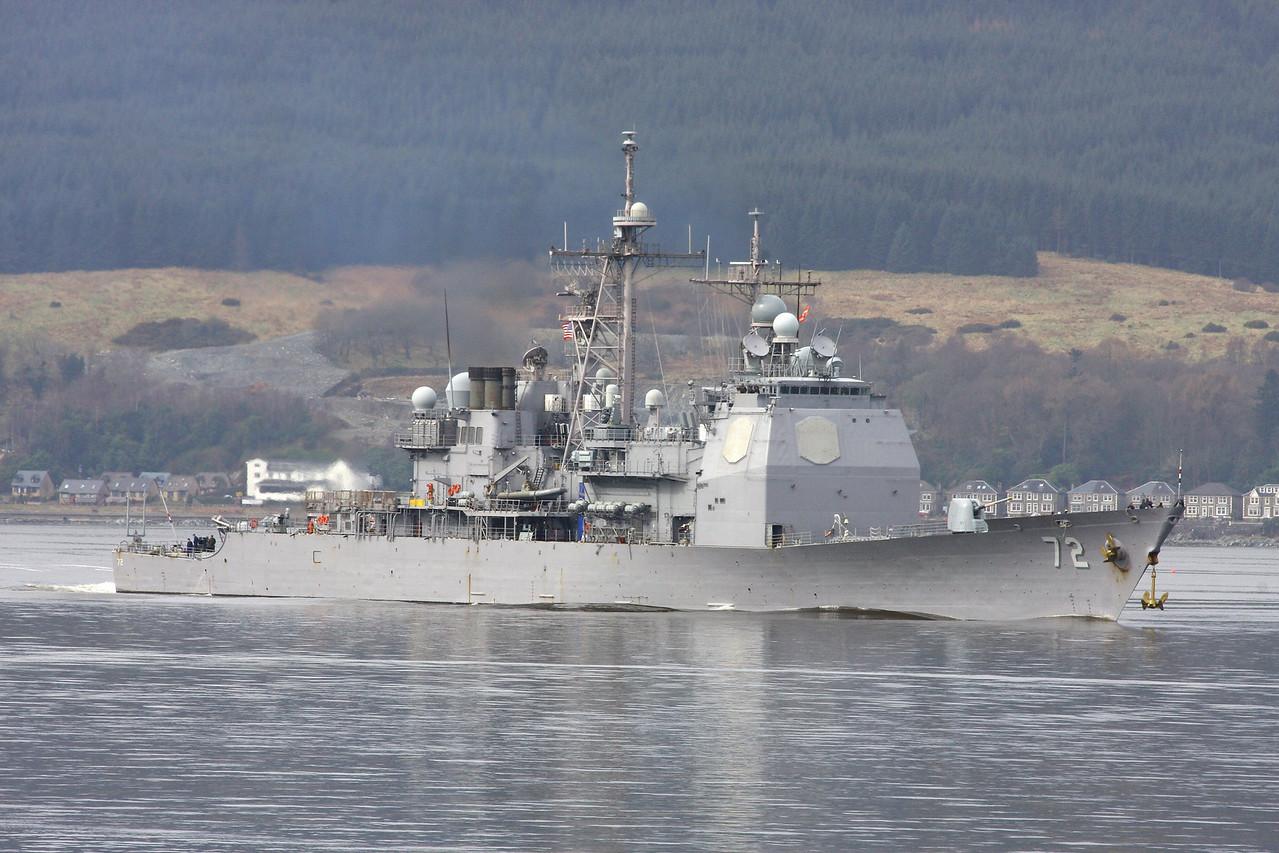 CG-72 USS VELLA GULF