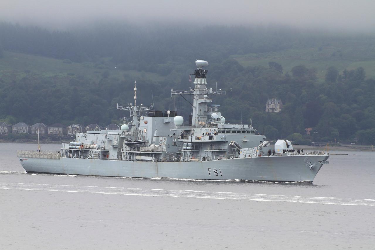 F-81 HMS SUTHERLAND