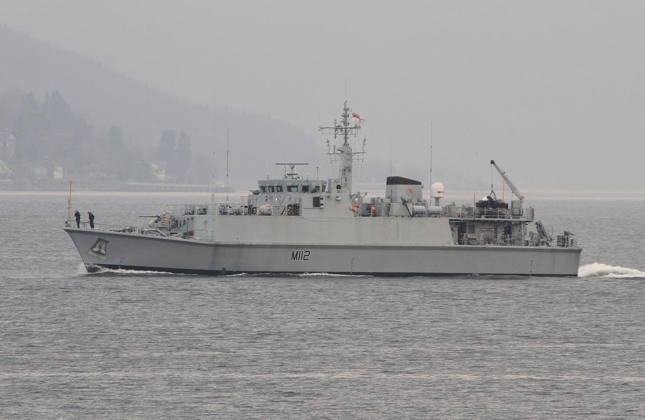 M-112 HMS SHOREHAM