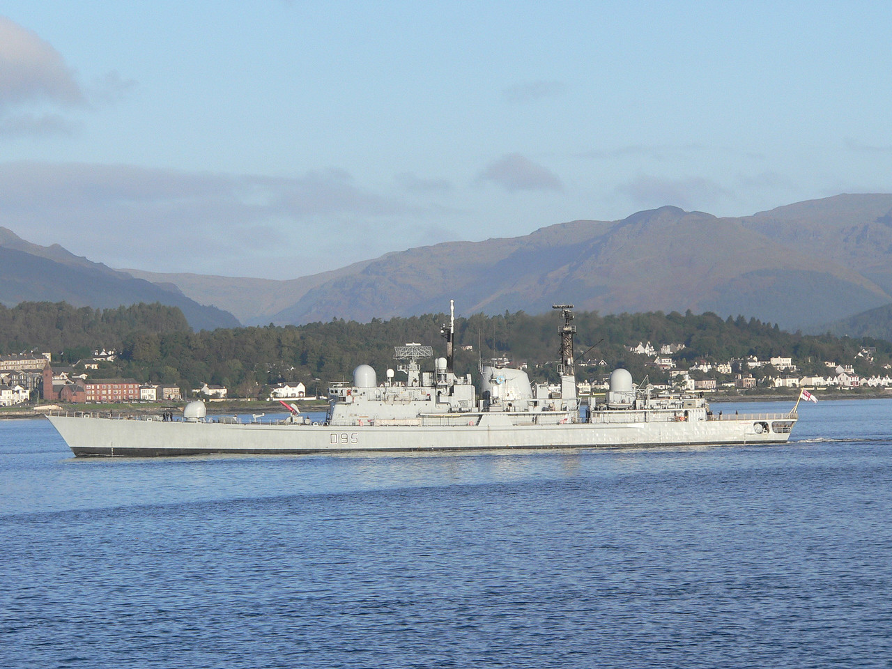 D-95 HMS MANCHESTER