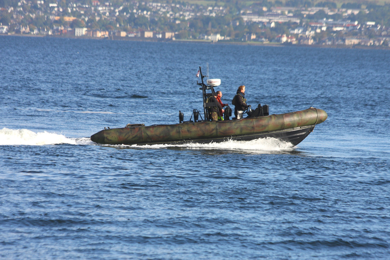 ROYAL MARINES RIB