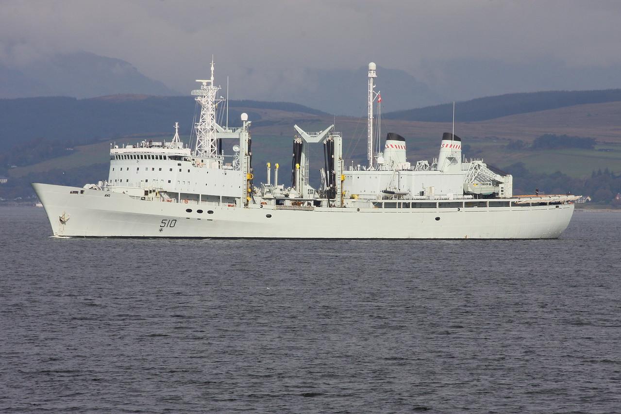AOR-510 HMCS PROVIDER
