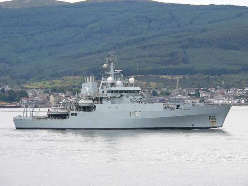 H-88 HMS ENTERPRISE