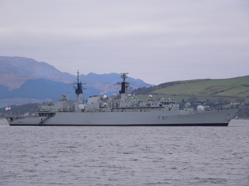 F-87 HMS CHATHAM