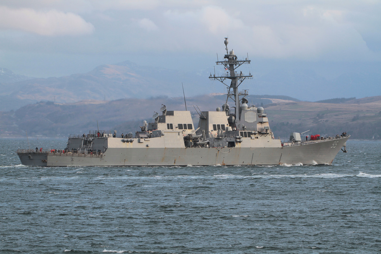 DDG-75 USS JAMES E WILLIAMS