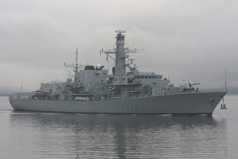 F-238 HMS  NORTHUMBERLAND