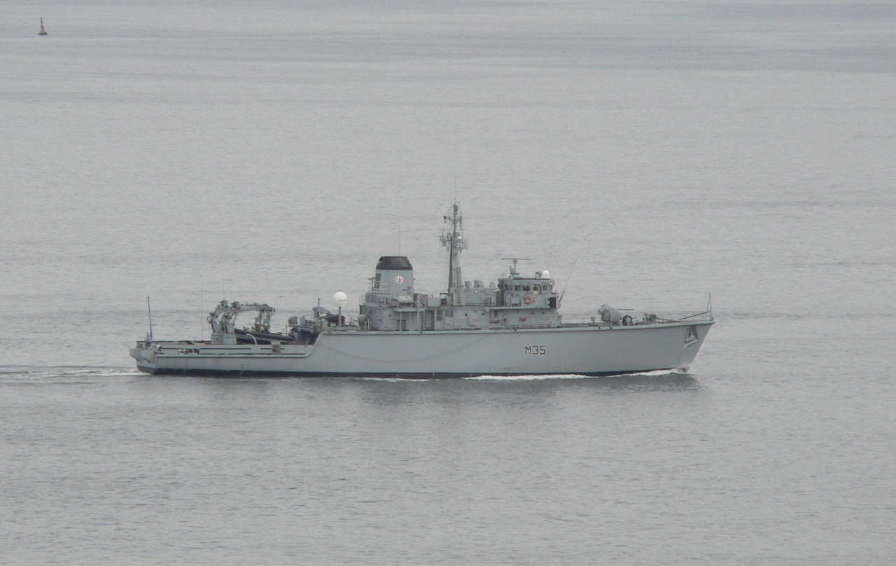 M-35 HMS DULVERTON