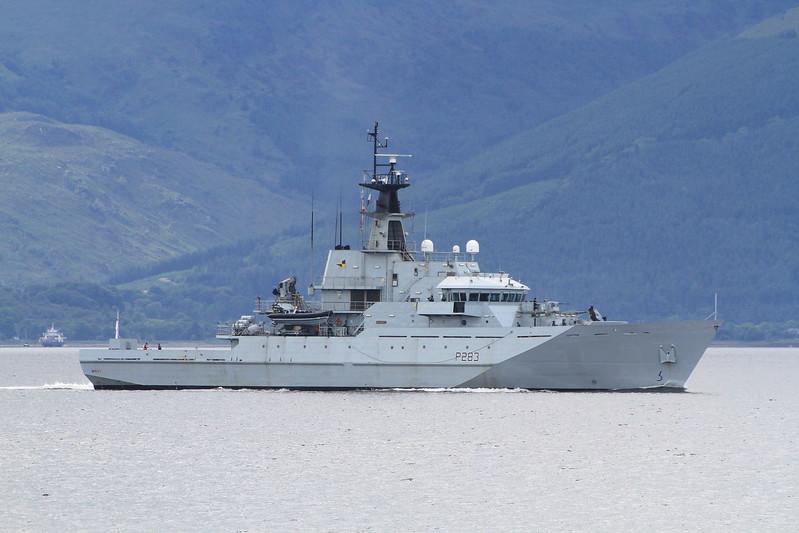 P-283 HMS MERSEY