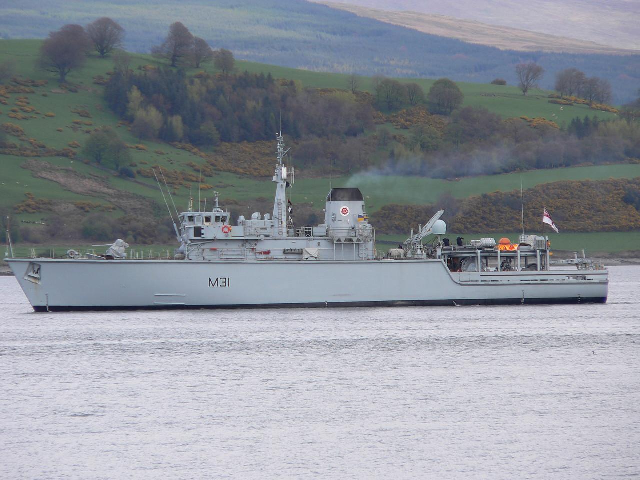 M-31 HMS CATTISTOCK