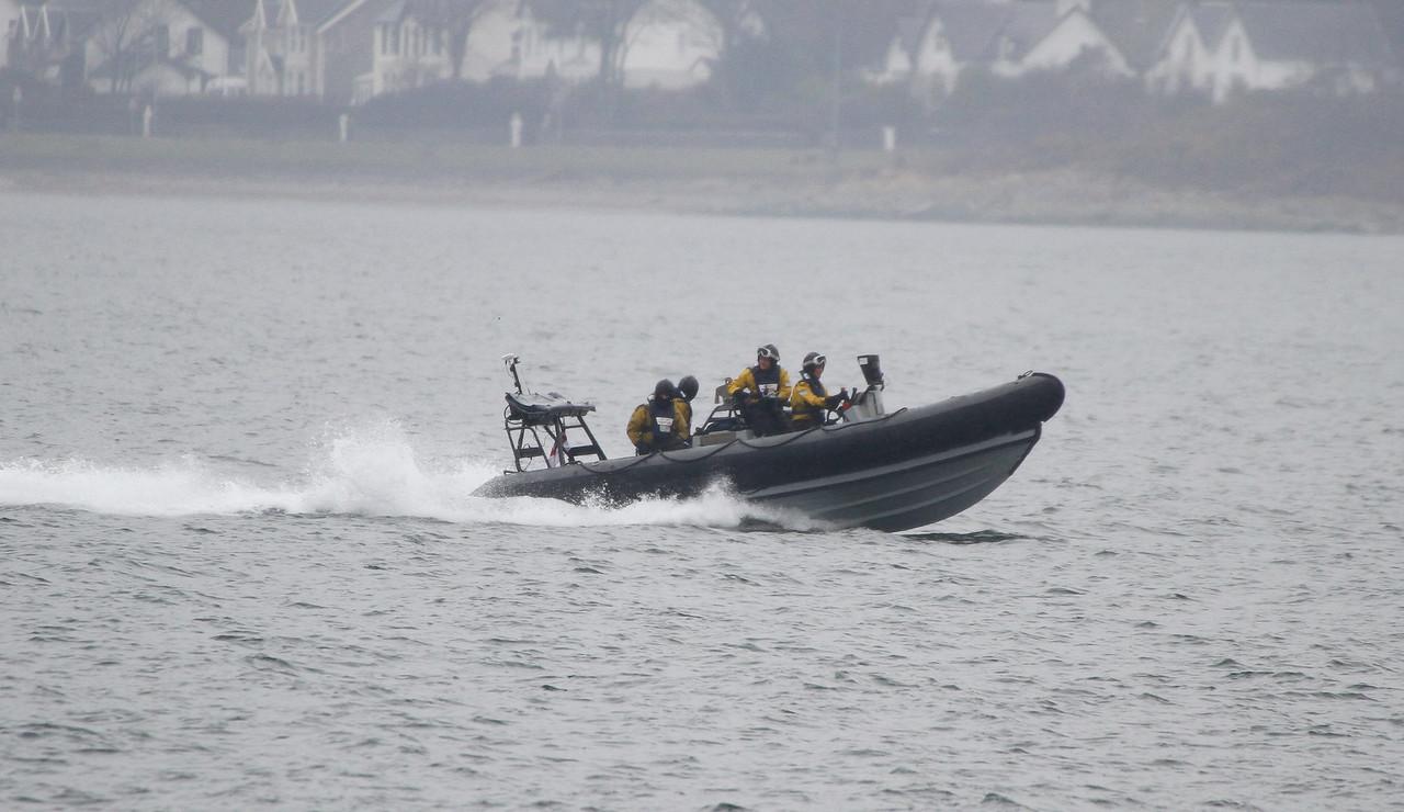 HMS TYNE RIB