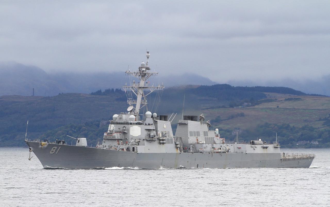DDG-81 USS WINSTON S CHURCHILL