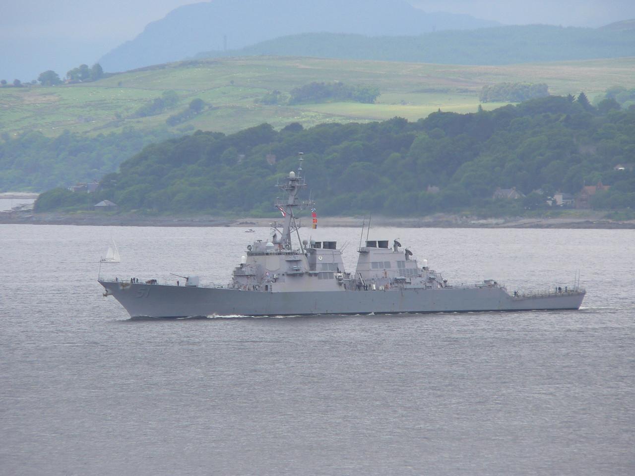 DDG-51 USS ARLEIGH BURKE