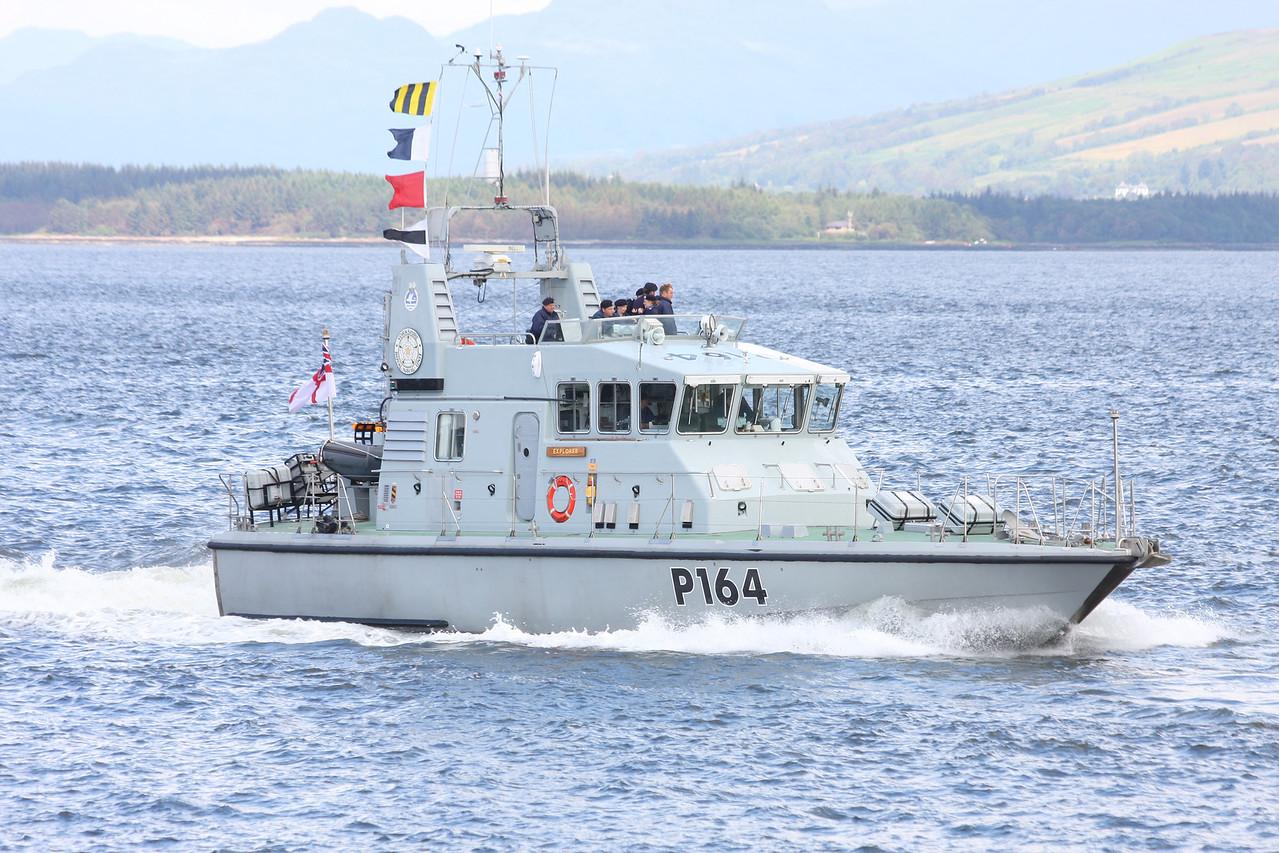 P-164 HMS EXPLORER