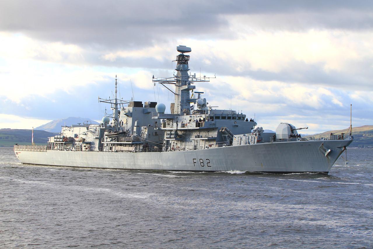 F-82 HMS SOMERSET