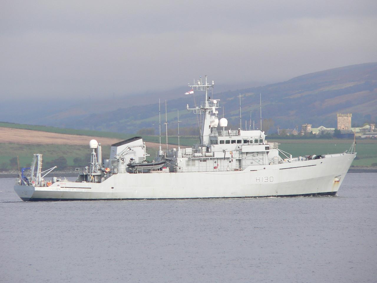 H-130 HMS ROEBUCK