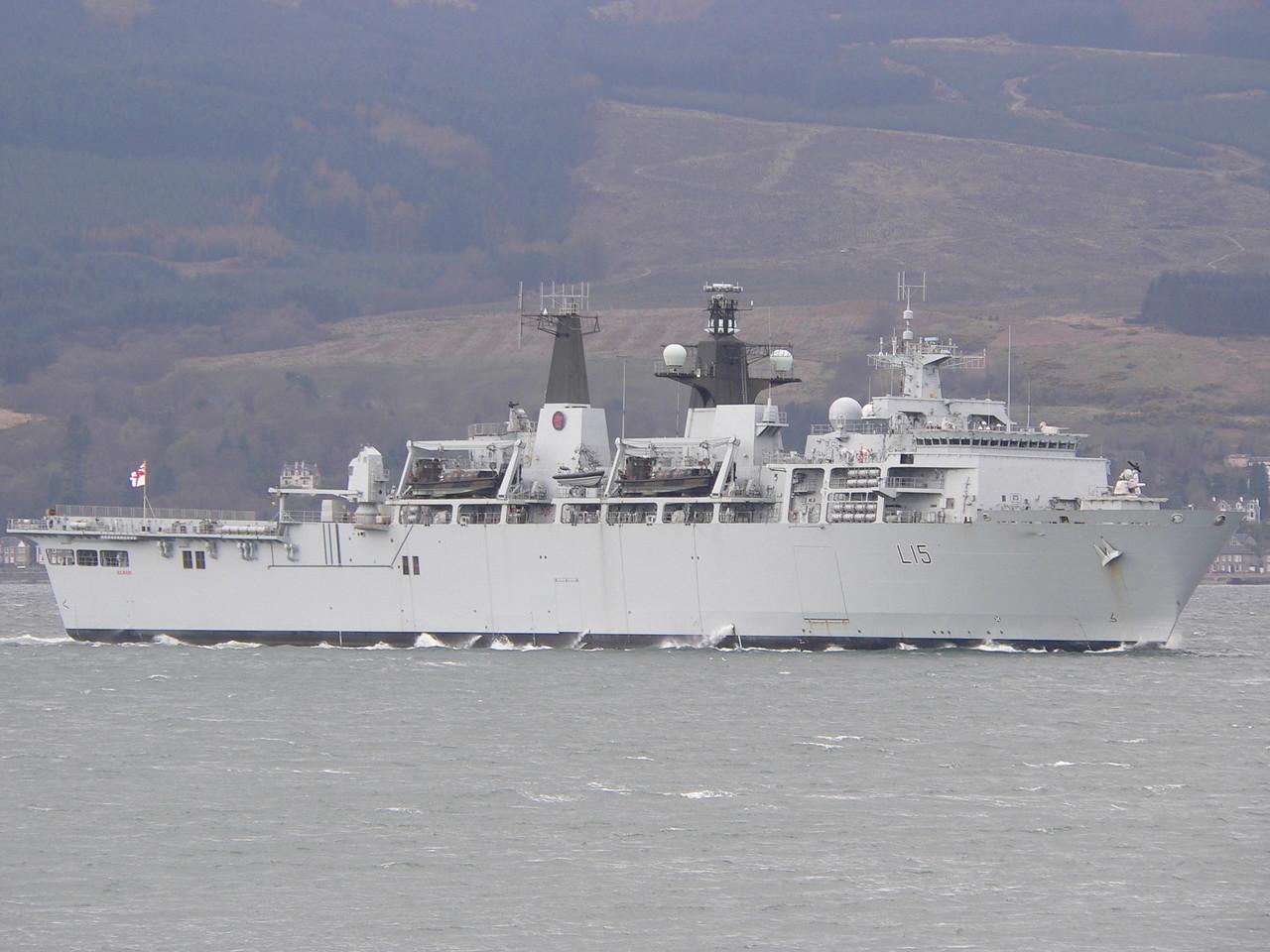 L-15 HMS BULWARK