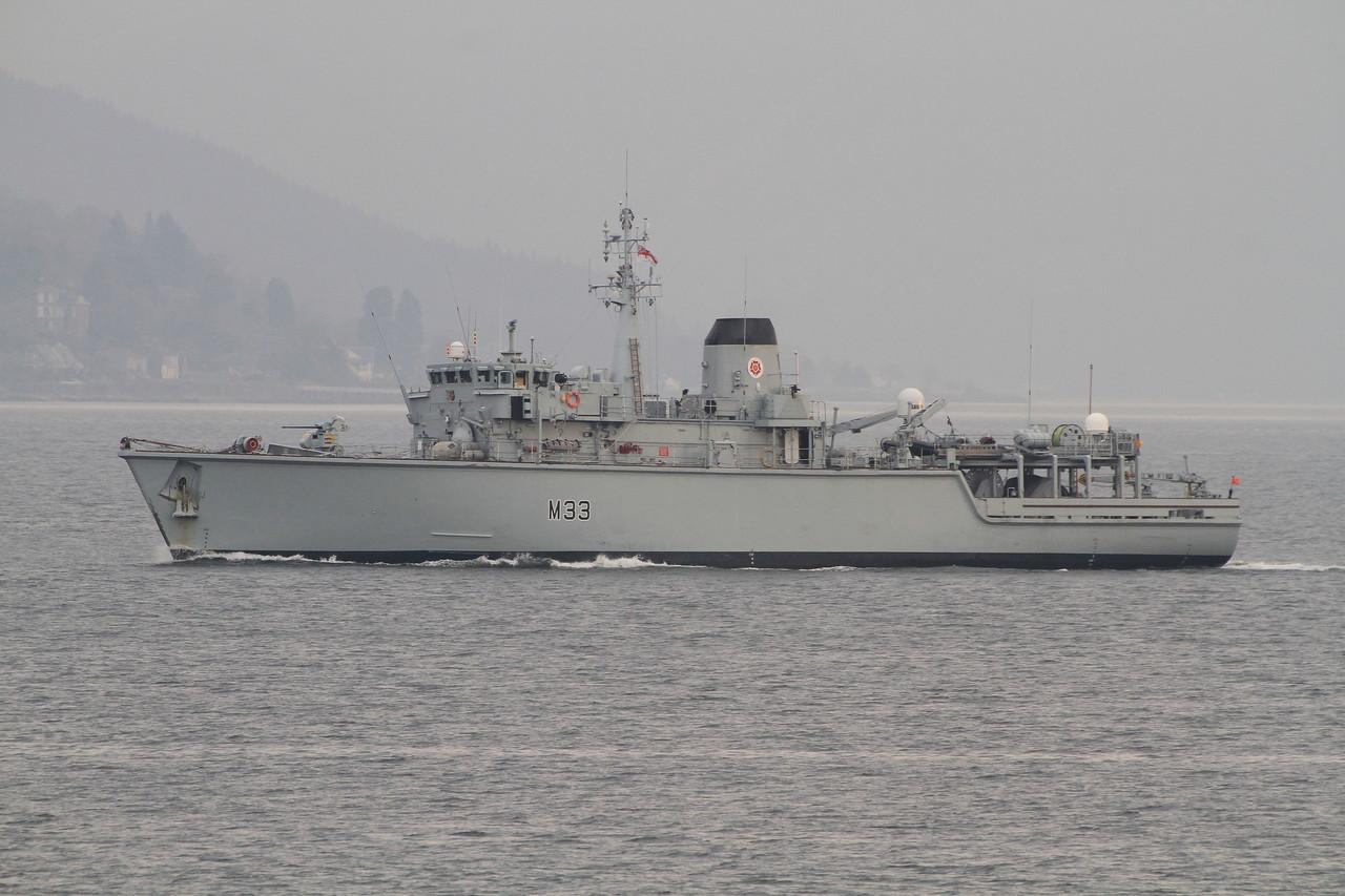 M-33 HMS BROCKLESBY