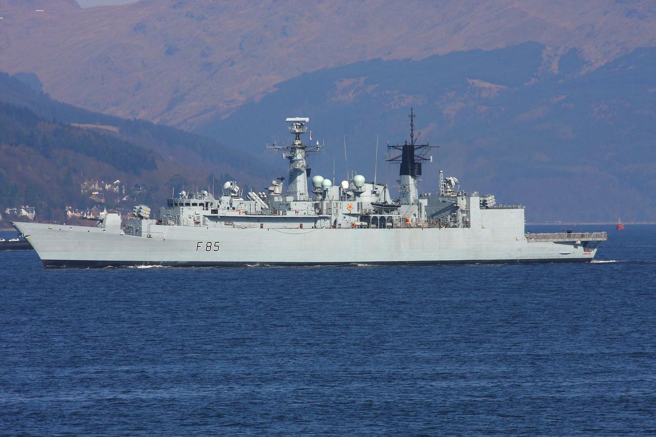 F-85 HMS CUMBERLAND