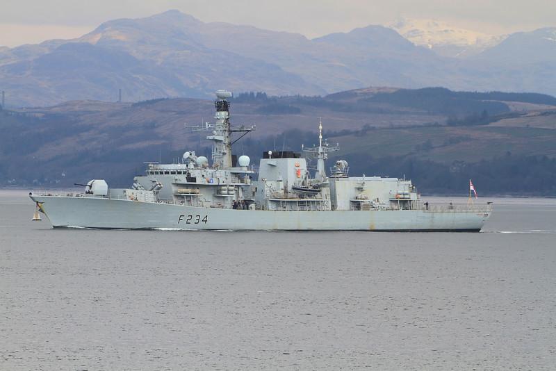 F-234 HMS IRON DUKE