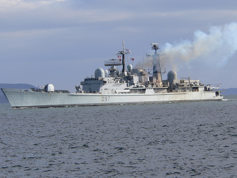 D-97 HMS EDINBURGH