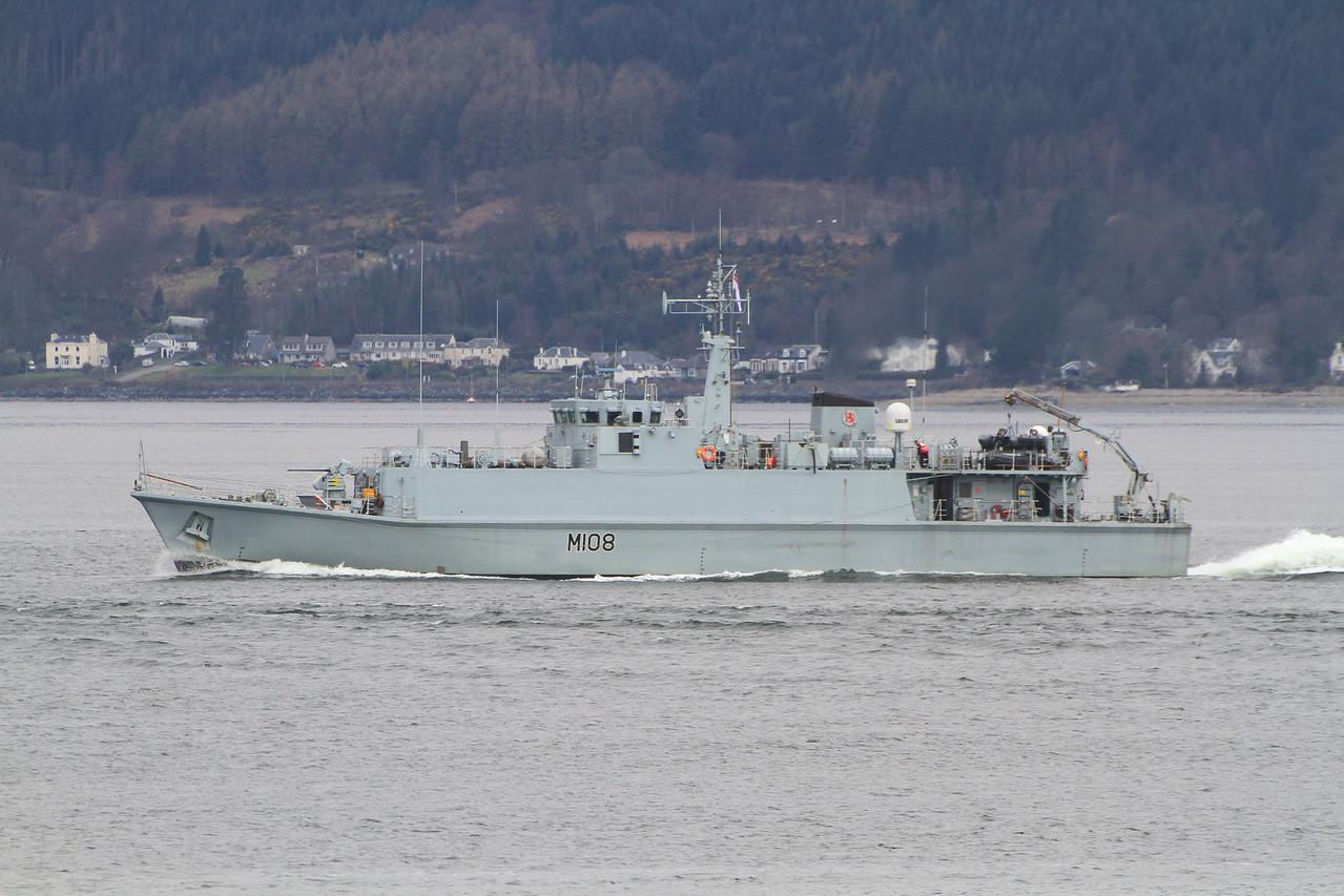M-108 HMS GRIMSBY