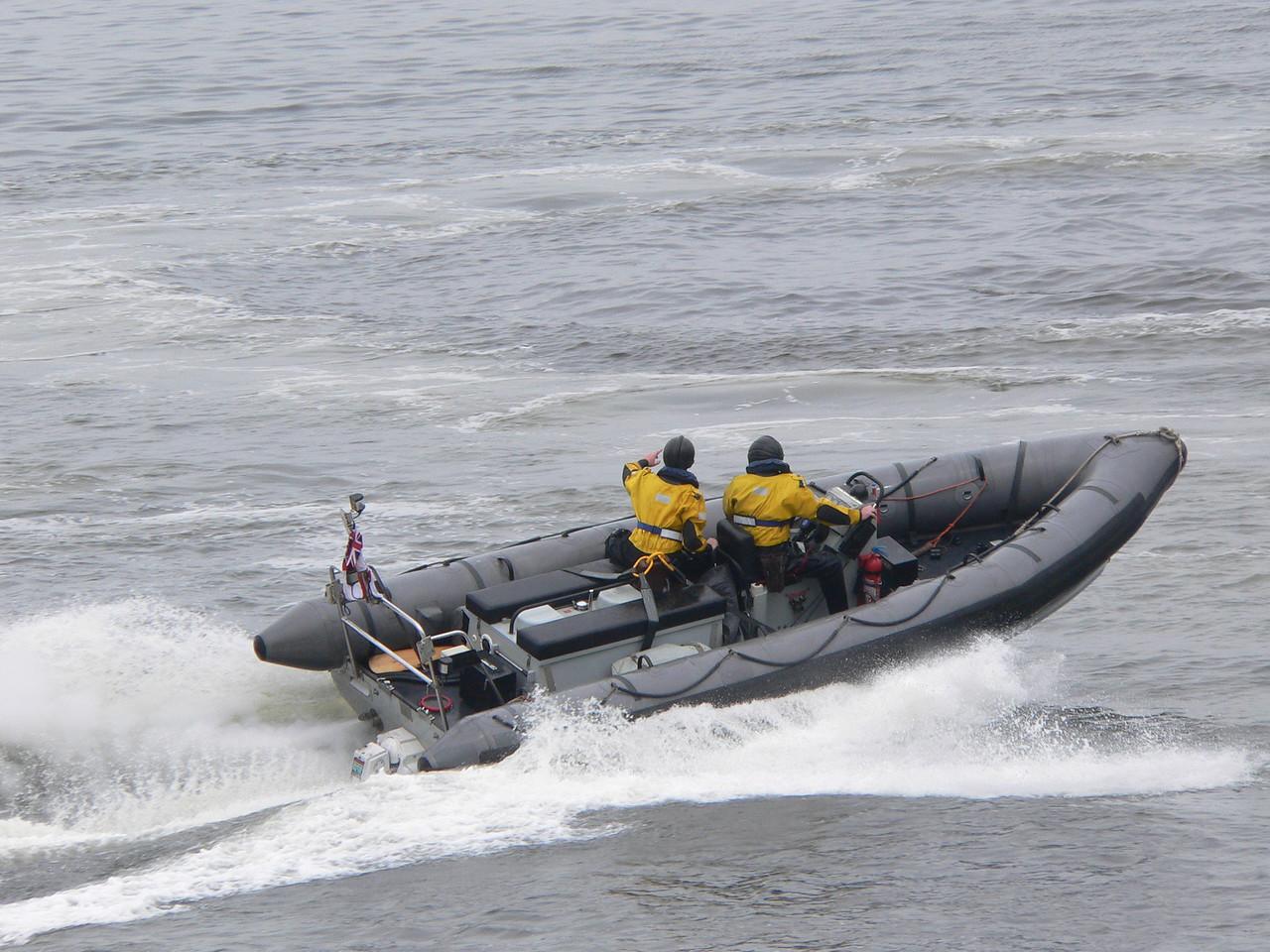 RIB HMS ENDURANCE
