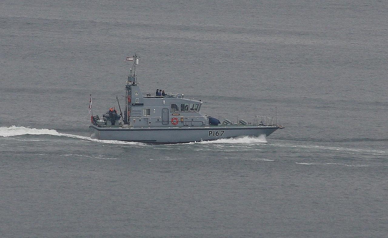 P-167 HMS EXPLOIT