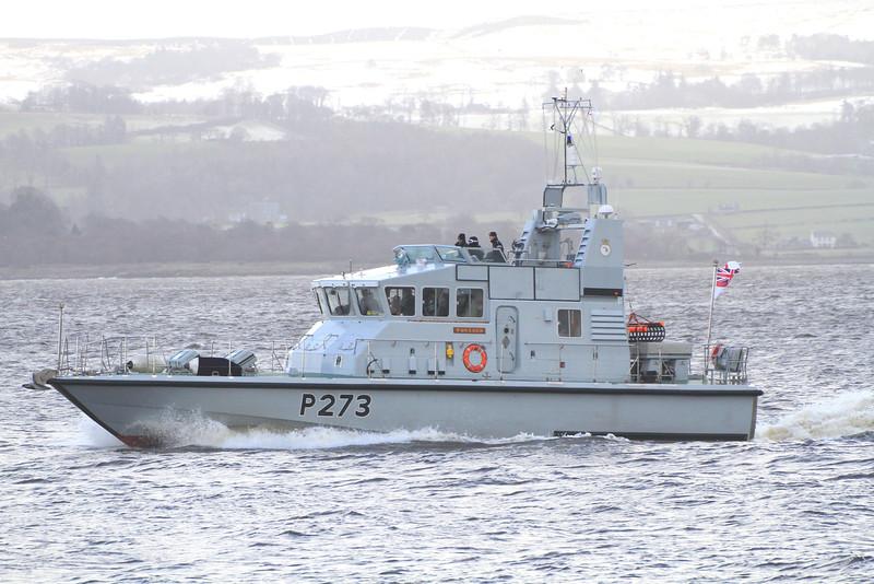 P-273 HMS PURSUER