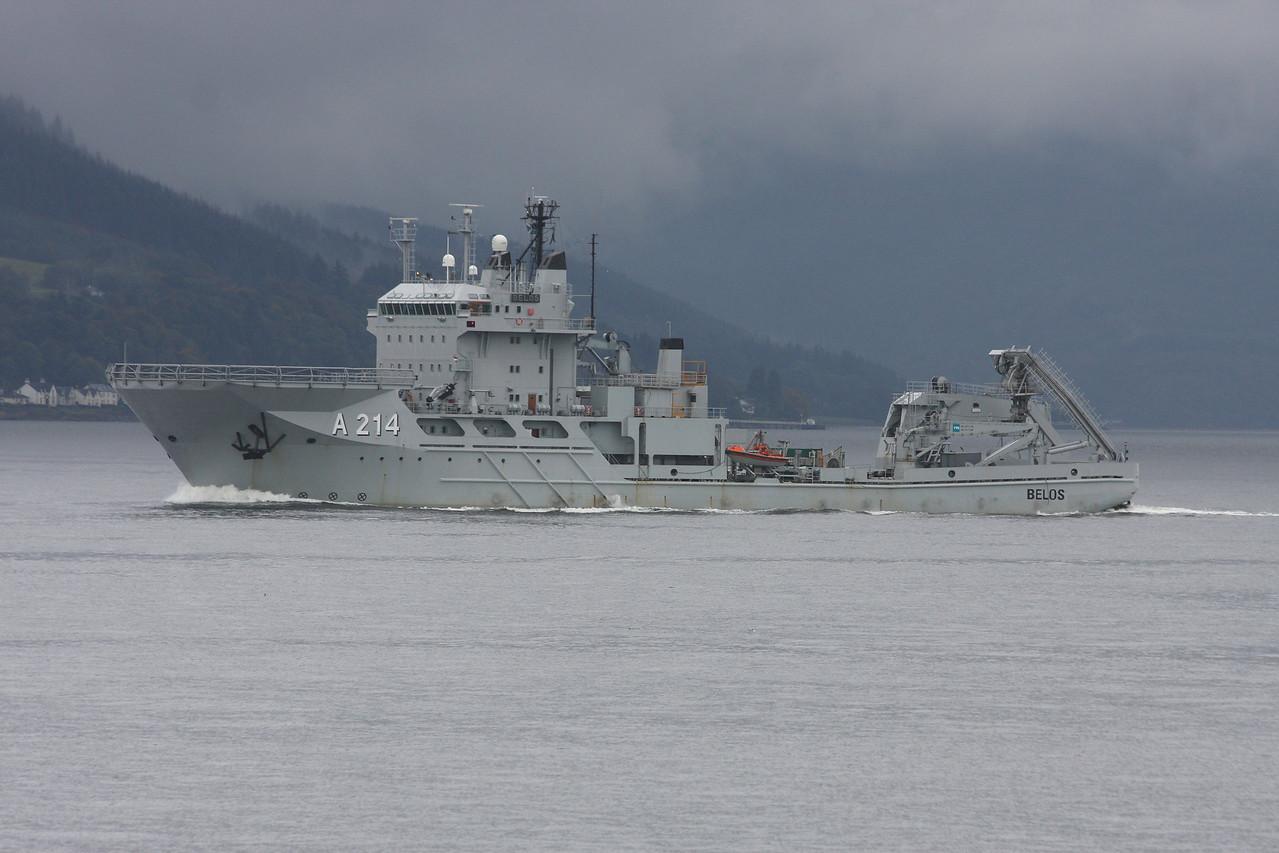 A-214 HMS BELOS