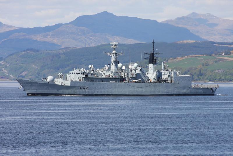 F-99 HMS CORNWALL
