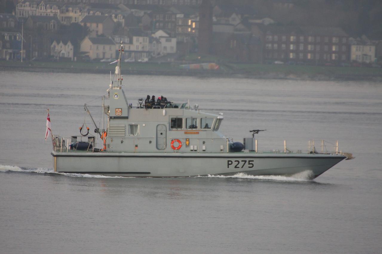 P-275 HMS RAIDER